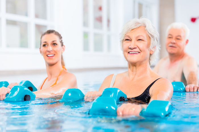 How water exercises can make you more flexible